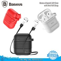 Baseus Airpods Case With Magnetic Strap Soft TPU Anti Fall ORIGINAL