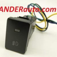 Switch Saklar Xpander dual led putih biru Fog Lamp push start button