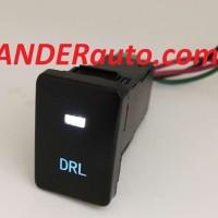 Switch Saklar Xpander dual led putih biru DRL push start button