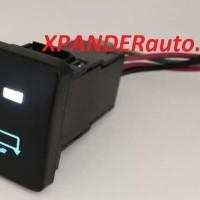Switch Saklar Xpander dual led putih biru folding mirror spion lipat