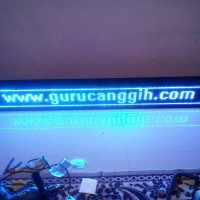 Running Text Wifi - BIRU 200x20cm