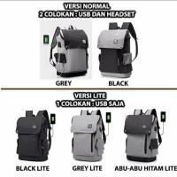 Ransel Backpack Pria Back Travel Punggung Fashion Ready Stock