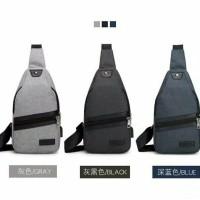 Sling Bag Pria Sling Bag Selempang Sekolah Pria Terbaru Ready Stock
