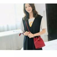 Sling Bag Wanita Fashion Model Miniso Selempang Ready Stock