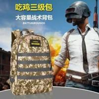Ransel Backpack USB PUBG Edition Import Tas Punggung Murah Ready Stock