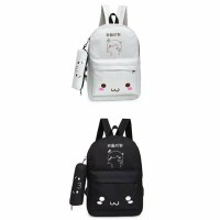 Ransel Backpack Wanita Tas Imut Korea Wanita Impor Ready Stock Murah