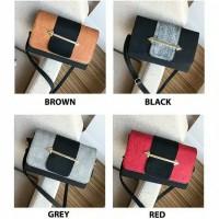 Sling Bag Wanita Fashion Selempang Bag Impor Ready Stock Murah