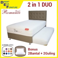 Kasur Spring Bed 2IN1 ROMANCE DUO 120X200