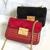 Harga charles and keith pushlock front flap crossbody | antitipu.com