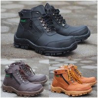 Sepatu Kickers Boots Safety California Good Quality