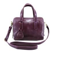 Handbag Milea Purple- Kenes Leather Bag