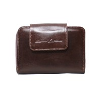 Dompet Kulit Mam Mini Dark Brown - Kenes Leather