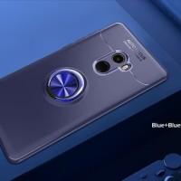 Xiaomi Mi Mix 2 MiMix2 Metal iRing Soft Case Cover Casing Silicon NEW