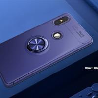 Xiaomi Redmi Note 5 Ai Pro Metal iRing Soft Case Cover Casing Silicone