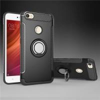 Xiaomi Redmi Note 5A Prime Carbon iRing Hard Soft Case Cover Casing