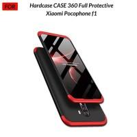 Xiaomi Pocophone F1 Hardcase 360 Full Cover Hard Case Depan Belakang