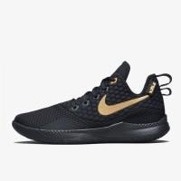 f923a49526b11 Sepatu Basket Nike Lebron Witness 3 EP Black Gold Original AO4432-003