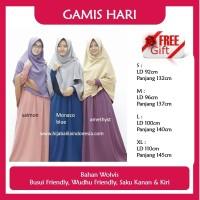 RESTOK Gamis Syari Hijab Alila Gamis Hari