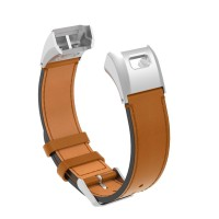 Terbatas Asli Kulit Jam Tangan Tali Anti-Air untuk Garmin Vivo Pintar