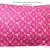 Sarung bantal 100cotton Besar/LadyAmericana/Kingkoil/Hotel