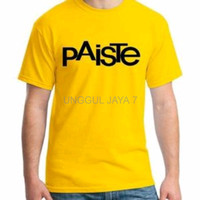 tshirt paiste kuning baju distro terlaris kaos pria wanita