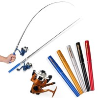 Pen Fishing Rod / Alat Pancing Mini Portable / joran mini/1.4meter