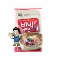 Harga baekje korean style noodle bibim nang myeon mie basah pedas | Pembandingharga.com