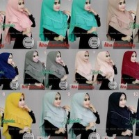 New Collection Jilbab Instan Danisha Aira Swarovsky Ori | Jes