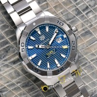 Paling Laku Jam Tangan Tag-Heuer Aquaracer Automatic Silver Dial Blue