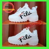Fila Disruptor II / Sepatu Fila Women Sneakers Wanita Viral Import