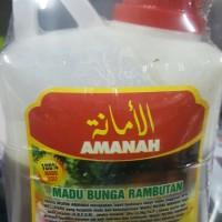 Madu Bunga Rambutan AMANAH Original 500 Gram