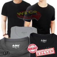 K473 - Kaos Oblong - Kaos Dalam - T Shirt Agree Comfort Super Cool