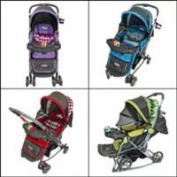 Harga stroller baby pliko grande 4in1 kereta dorong bayi praktis | antitipu.com