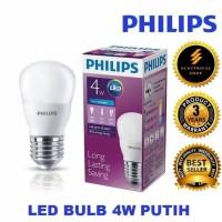 Lampu bohlam LED Philips phillips 4w 4watt 4 watt putih