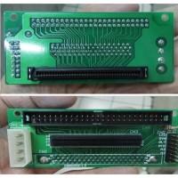CONVERTER SCSI 80 pin female to 50 pin male & 68 pin female