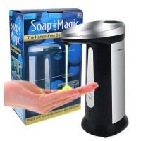 Dispenser tempat Sabun Shampoo Sensor Otomatis 400ml Soap Magic