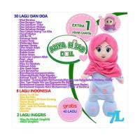 Mainan Edukasi ALIYA HIJAB Boneka Mengaji, Berdoa dan Bernyanyi