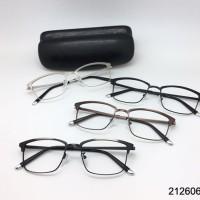 Kacamata Frame+ Lensa  Minus Antiradiasi Pria Wanita Baca Kotak  Korea