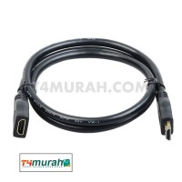 HDMI EXTENDER CABLE MALE TO FEMALE 0.5M