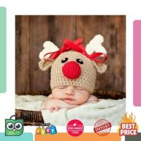 Harga lucu bayi bayi crochet rajutan rusa beanies topi untuk | Pembandingharga.com