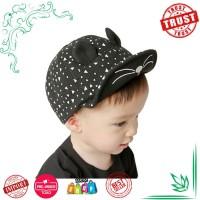 Harga topi bayi untuk anak lakilaki perempuan lucu kucing gaya anak | Pembandingharga.com