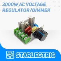 Dimmer SCR 2000W Motor Speed Controller 220V 16A AC PWM