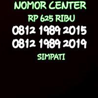 Nomor Cantik Simpati Seri Tahun 2015&2019-0812 1989 2015 BO6