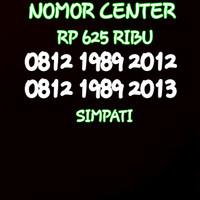 Nomor Cantik Simpati Seri Tahun 2012&2013-0812 1989 2012 BO5