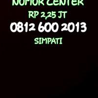 Nomor Cantik Simpati Seri Tahun 2013-0812 600 2013 NB-1749