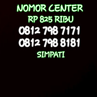 Nomor Cantik Simpati Seri Doble AB 7171-0812 798 7171 BO1
