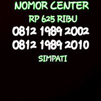 Nomor Cantik Simpati Seri Tahun 2002&2010-0812 1989 2002 BO4