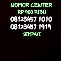 Nomor Cantik Simpati Seri Doble AB 1010-08123457 1010 BO5