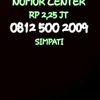 Nomor Cantik Simpati Seri Tahun 2009-0812 500 2009 NB-1737