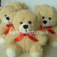 Boneka Bear 15cm bulu Keriting